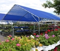Showcase: Poly-Tex -- Greenhouse & Display Systems<BR>Vertex - Peak Shade Structure